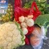 ベジマーケットと天ぷら定食
