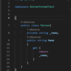 C# の複数ファイルの一括フォーマットツール