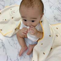 【人気インスタグラマー@ask_____10ブログ】出産準備や出産祝いにおすすめ♡Bébé Ange original ブランケット!
