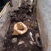 再発掘 壊れない様に Re-excavation