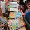 4年生:図工 コロコロガーレ鑑賞会