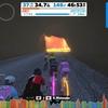 【ロードバイク】Zwiftトレーニング46日目_EMUレースは辛かった_20200709