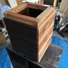 DIY 木製プランター作りました