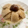 甘栗で作る簡単モンブラン♪ 家でも手軽にモンブランが食べれます。