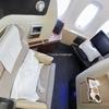 カンタス航空 A380-800 ファーストクラス QF001 シドニー→ドバイ→ロンドン 搭乗記 2017年