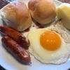 GWも終盤に…朝食