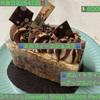 🚩外食日記(642)    宮崎   「ニココペッシュ(Sweets Shop Nicoco Peche)」④より、【ミルフィーユショコラ】【ポム・トライアングルーアップルパイー】‼️