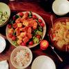 最近の藤山家の食卓。
