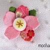 ちりめん細工「桜」の作り方・京ちりめん吉祥つるし飾り⑬