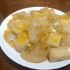 玉ねぎと油揚げの卵とじ は味をギューッと凝縮したご飯に合う一品