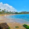 【マウイ島リゾートエリア1】マウイ島に移動☆人気のカアナパリビーチとラハイナ観光!!