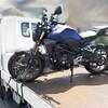 バイクに…乗りたい…