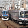 《東急》【写真館256】人気の街「武蔵小杉」での東横線と目黒線の並走