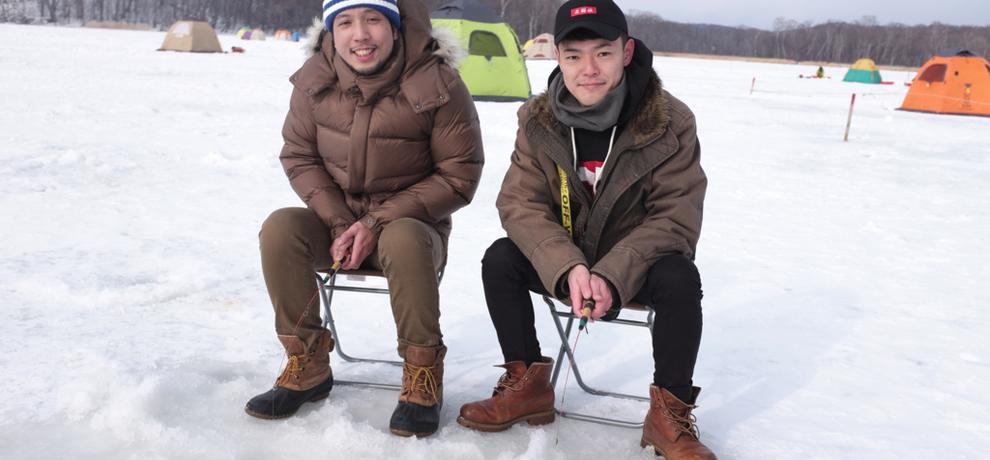 氷点下の網走湖で、氷上ワカサギ釣りを体験してみた【短歌付き】