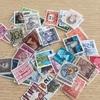 手帳コラージュ用に海外の使用済み切手を購入しました♪