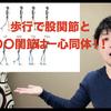 歩行の股関節はある関節と一心同体(๑╹ω╹๑ )