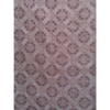 着物生地(413)抽象花模様織り出し泥大島紬