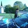 洗車とご飯
