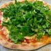 【天然酵母】強力粉で作る「天然酵母のピザ生地」焼き方。ルッコラとベーコンのピザ。レシピ。