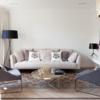 芸術的な空間デザインで完成した40坪台のマンションインテリア