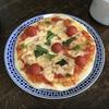土曜のお昼にピザを焼く