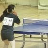 女子2年生の部一回戦 三重県高校学年別卓球大会