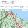 余市山道、梅川―豊浜間走破!
