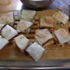 幸運な病のレシピ( 1519 )昼:サンドイッチ、ポテトサラダ、豚バラ照り焼き