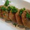 豆腐ハンバーグ と お味噌汁