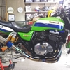 ZRX1100 (タイヤ交換)