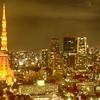 東京の夜景の写真