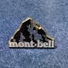 モンベルクラブブラック会員専用モンベル特製ピンバッジ