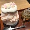 カラフル「おいり」がかわいい♡ 桃みるくの天然氷(Tsumugi @横浜)