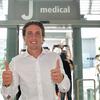ルカ・ペッレグリーニ、Jメディカルに到着