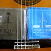 ギター弦交換:オーガスチン インペリアル・ブルー