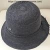 プチプラだけじゃ寂しい50代!上質なヘレンカミンスキーの帽子に大満足。