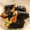鶏ムネ肉とエリンギの海苔巻きニンニク塩炒め〜バイリンガルへの道、日本語とドイツ語の発音を考える
