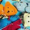 遅めの冬支度・カーデガン編みから靴下へ 悩みながらも楽しい編み物