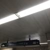 大阪メトロ仕様の案内板なのに何故か消灯されています!