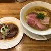 『麺工房 やびな』②「塩soba+厚切りローストポークステーキ」秋田県能代市