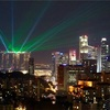 """シンガポール街歩き#214(ベイエリア遠景・光のショー""""ワンダー・フル"""""""