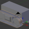 Blender2.7で動きと連動するキャタピラをつくる