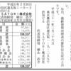 マーケティングオートメーションのSATORI株式会社 第3期決算公告 / 減少公告