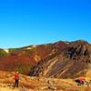 紅葉と温泉の山旅へ…
