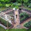 洋式菜園のレイアウト案について