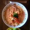 渡り蟹のトマトクリームパスタを作った。
