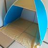 今流行りの自宅テントを設置してみました!我が家では次女が独占中です!
