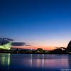 神戸ハーバーランドでポートタワーと初日の出を撮影してきた