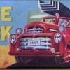 消防車-箱