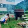 ラフ旅15日目@山楽を出発〜高浪の池キャンプ場へ!!